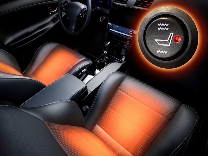 Stoelverwarming Autobedrijf Frits Keizer